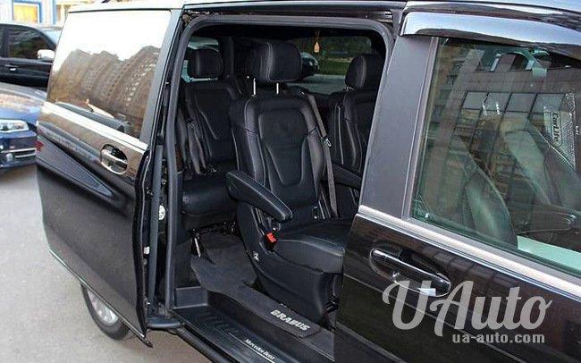аренда авто Микроавтобус Mercedes V-Class в Киеве