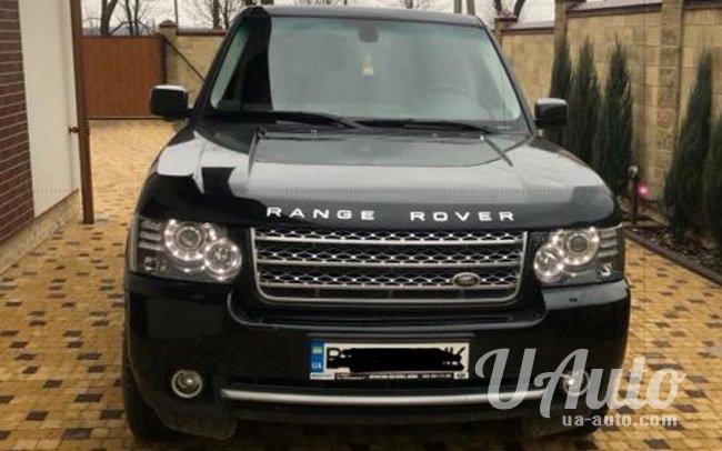 аренда авто Range Rover Voque в Киеве
