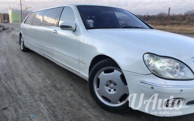 аренда авто Лимузин Mercedes S-Class W220 в Киеве