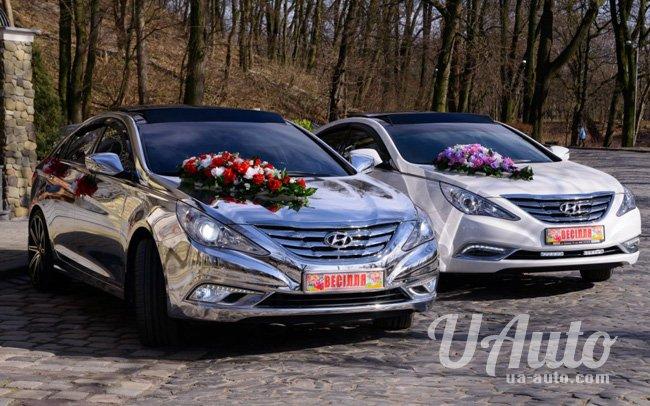 аренда авто Hyundai Sonata Эксклюзив в Киеве