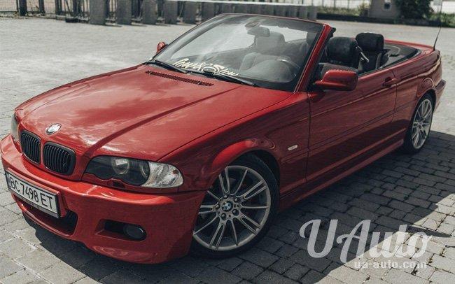 аренда авто Кабриолет BMW 3 E46 в Киеве