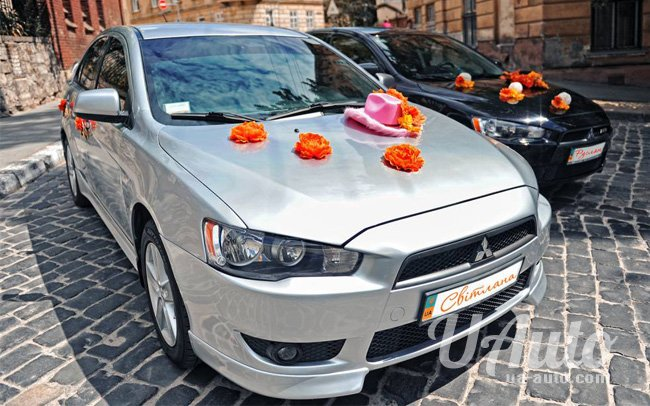 аренда авто Mitsubishi Lancer X в Киеве