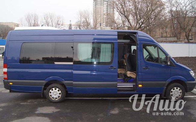 аренда авто Микроавтобус Mercedes Sprinter XXL в Киеве