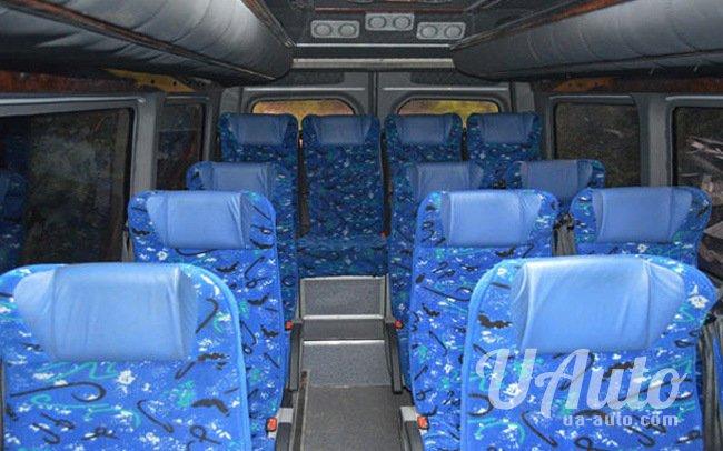 аренда авто Микроавтобус Mercedes Sprinter XL в Киеве