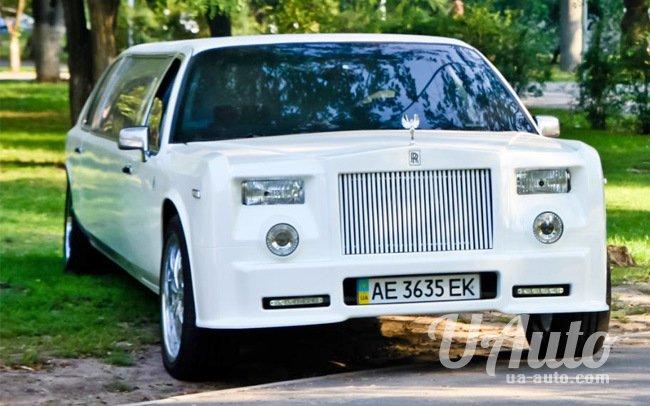 аренда авто Лимузин Rolls Royce Phantom (реплика) в Киеве