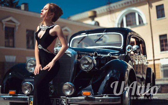 аренда авто Ретро Кабриолет Mercedes в Киеве
