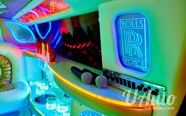 аренда авто Лимузин Rolls Royce Phantom в Киеве