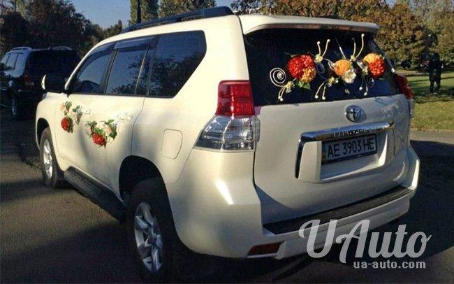 аренда авто Toyota Land Cruiser Prado в Киеве