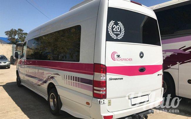 аренда авто Микроавтобус Mercedes Sprinter 519 в Киеве