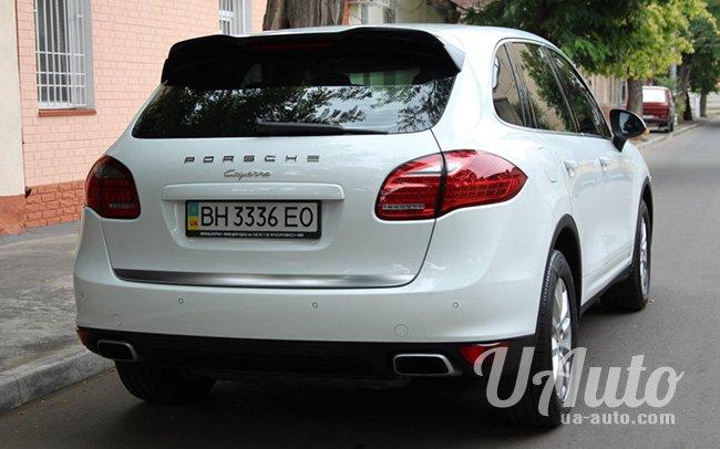 аренда авто Porsche Cayenne в Киеве