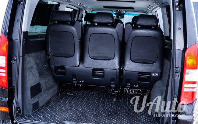 аренда авто Микроавтобус Mercedes Viano VIP в Киеве
