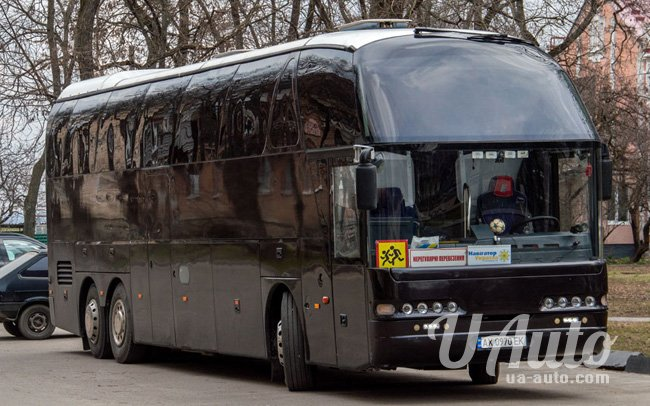 аренда авто Автобус Neoplan N 516 SHD в Киеве