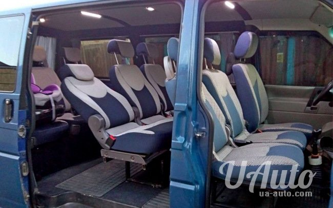 аренда авто Микроавтобус Volkswagen Transporter T4 в Киеве