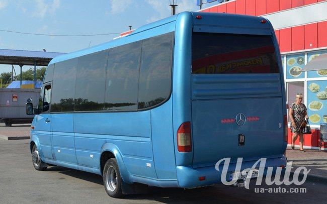 аренда авто Микроавтобус Mercedes Sprinter 412 в Киеве