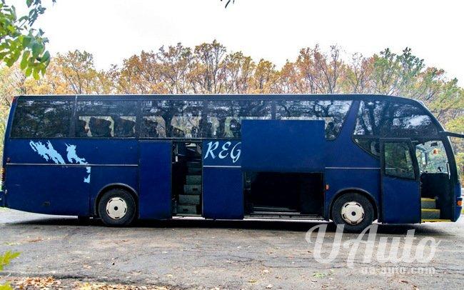 аренда авто Автобус Scania в Киеве