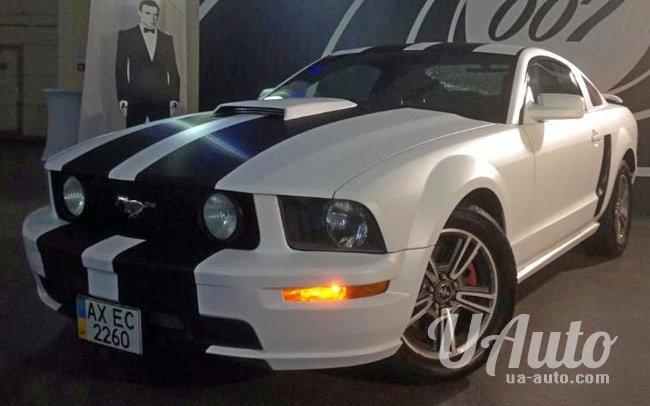 аренда авто Ford Mustang в Киеве