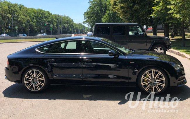 аренда авто Audi A7 в Киеве