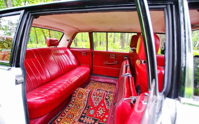 аренда авто Ретро Лимузин Mercedes в Киеве