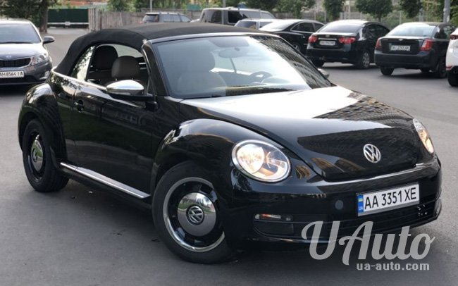 аренда авто Кабриолет Volkswagen Beetle в Киеве