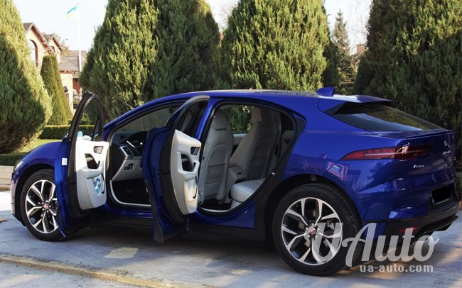 аренда авто Jaguar I-Pace в Киеве