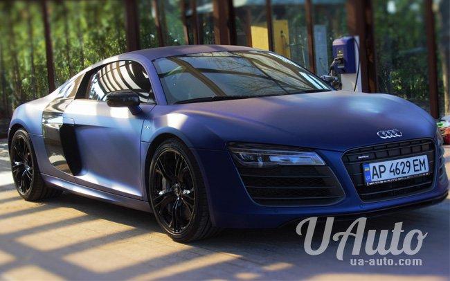 аренда авто Audi R8 в Киеве