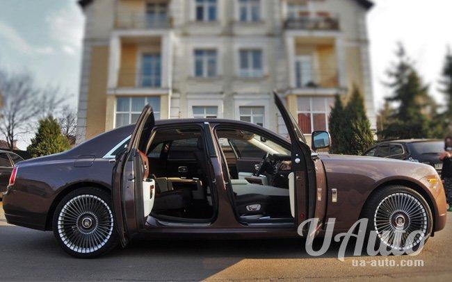 аренда авто Rolls Royce Ghost в Киеве