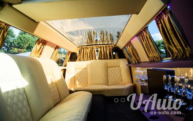 аренда авто Лимузин Mercedes DeLuxe в Киеве
