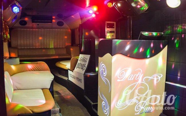 """аренда авто Party Bus """"Golden Prime"""" в Киеве"""