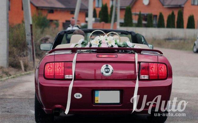 аренда авто Кабриолет Ford Mustang GT в Киеве