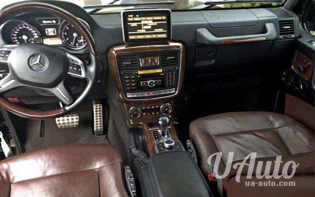 аренда авто Mercedes G-Class G 63 Brabus в Киеве