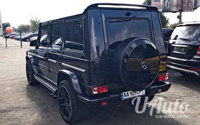 аренда авто Mercedes G-Class G 55 в Киеве