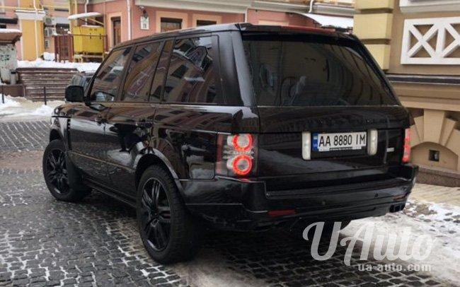 аренда авто Range Rover Vogue в Киеве