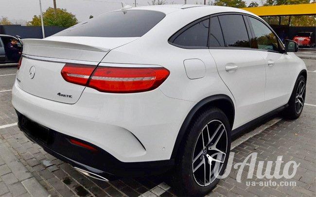 аренда авто Mercedes GLE Coupe в Киеве