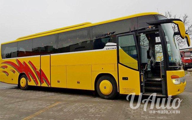 аренда авто Автобус Setra S415 на свадьбу