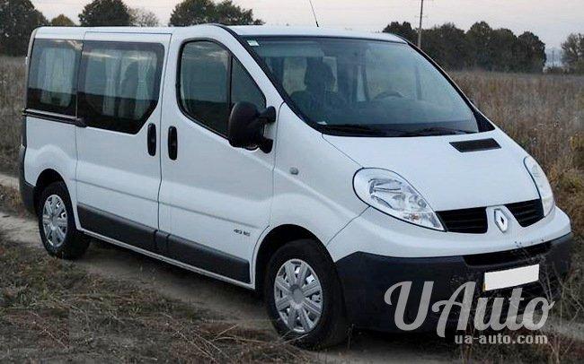 аренда авто Микроавтобус Renault Trafic на свадьбу