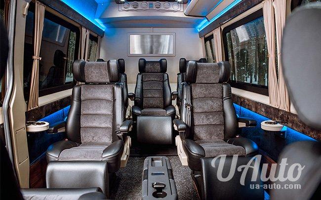 аренда авто Mercedes Sprinter VIP Line в Киеве