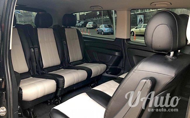 аренда авто Mercedes Vito 447 в Киеве