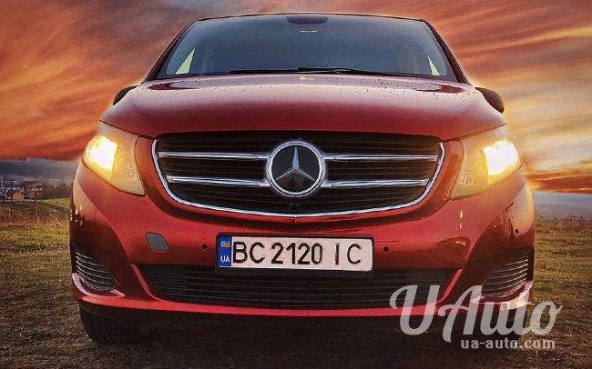 аренда авто Mercedes Vito 2015 в Киеве