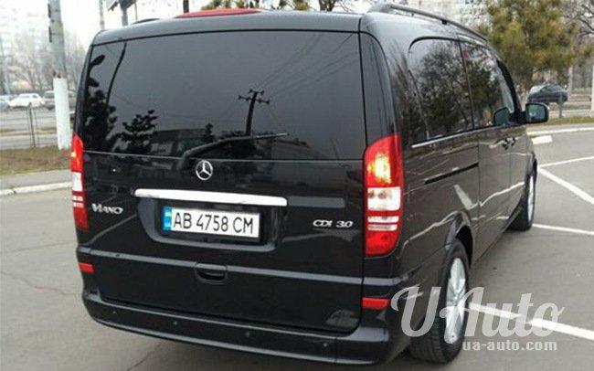 аренда авто Mercedes Viano в Киеве