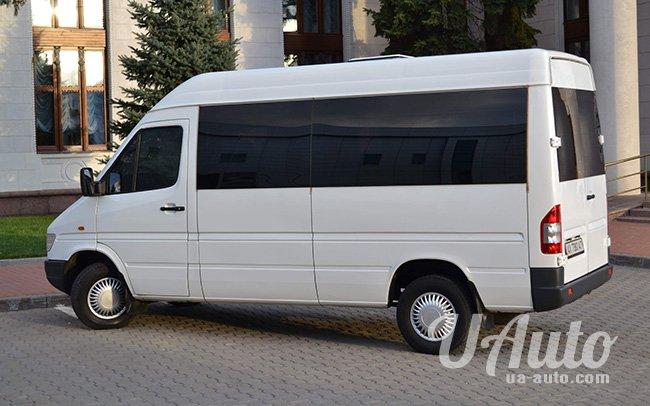 аренда авто Mercedes Sprinter 2000 в Киеве