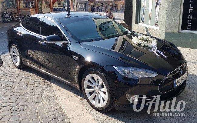 аренда авто Tesla Model S 85 на свадьбу
