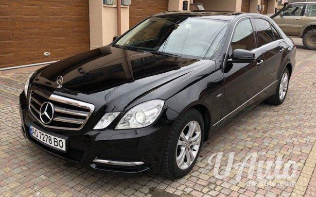 аренда авто Mercedes E-Class W212 на свадьбу